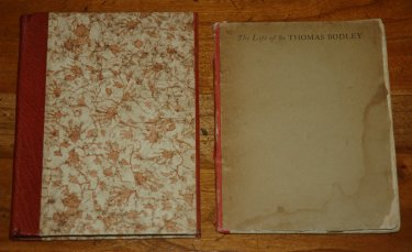 1894 - Lane Christmas Book- The Life of Sir Thomas Bodley- 1 front cover